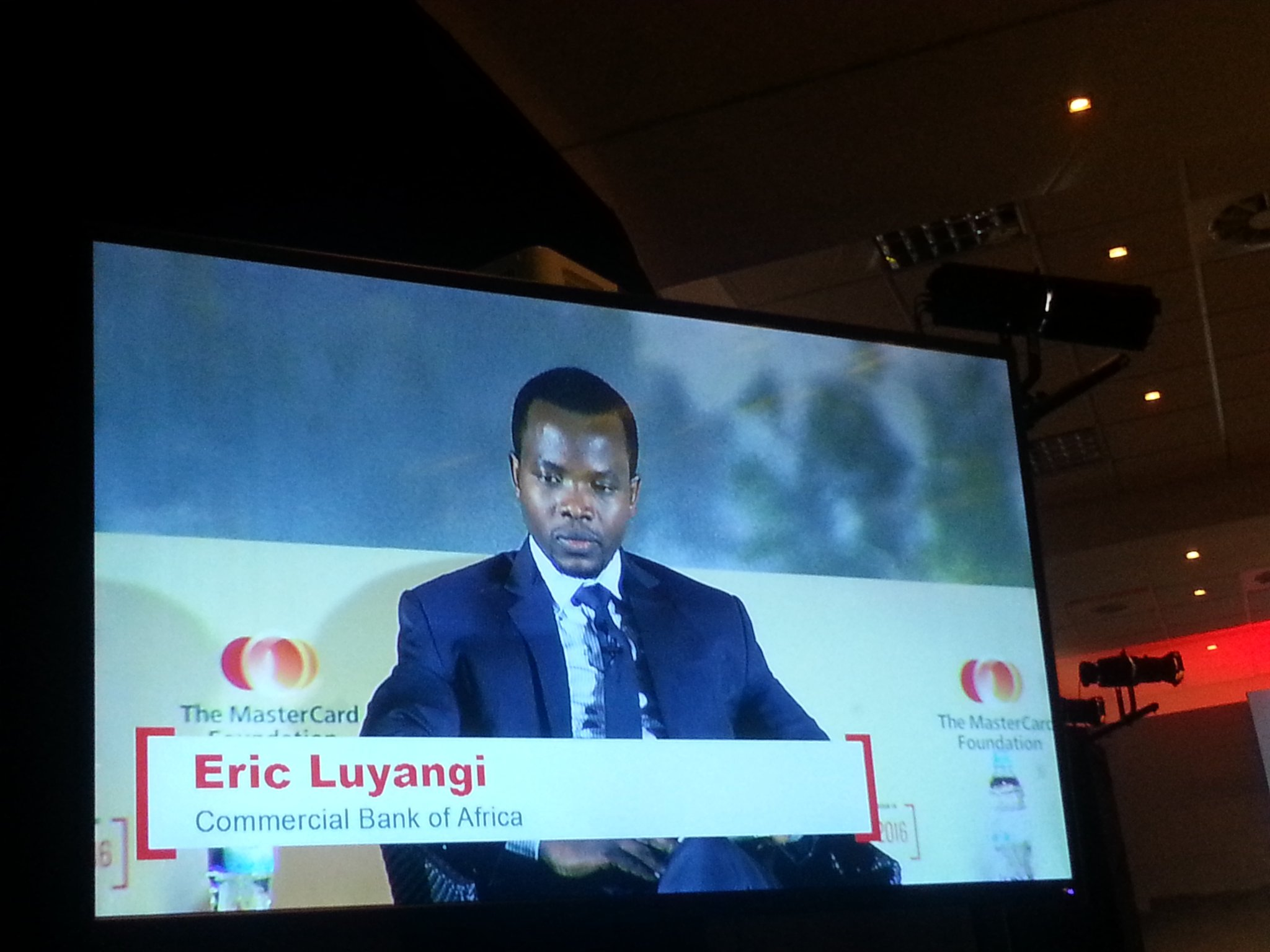 Commercial Bank of Africa (#Tanzania)'s Eric Luyangi talks about M-Power #SoFI2016 @MastercardFdn https://t.co/lrjjOfCCyT