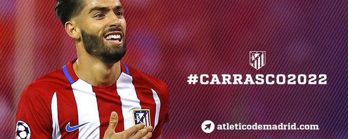 Atlético Madrid • Yannick Ferreira Carrasco CvSMwAbVYAAWTTO