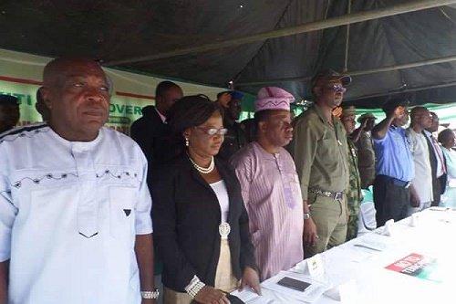 Ekiti governor, Fayose has launched the Ekiti Grazing Enforcement Marshalls on Thursday, October 20, 2016 at the governor's office, Ado Ekiti.