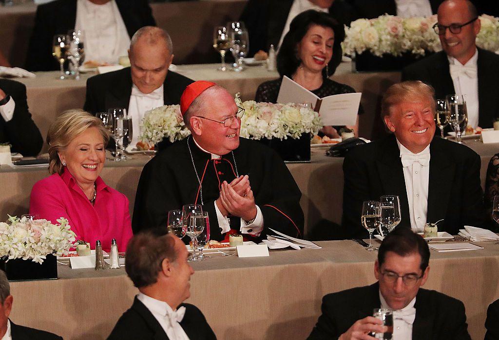 Trump, Clinton speak at the Al Smith Dinner in New York