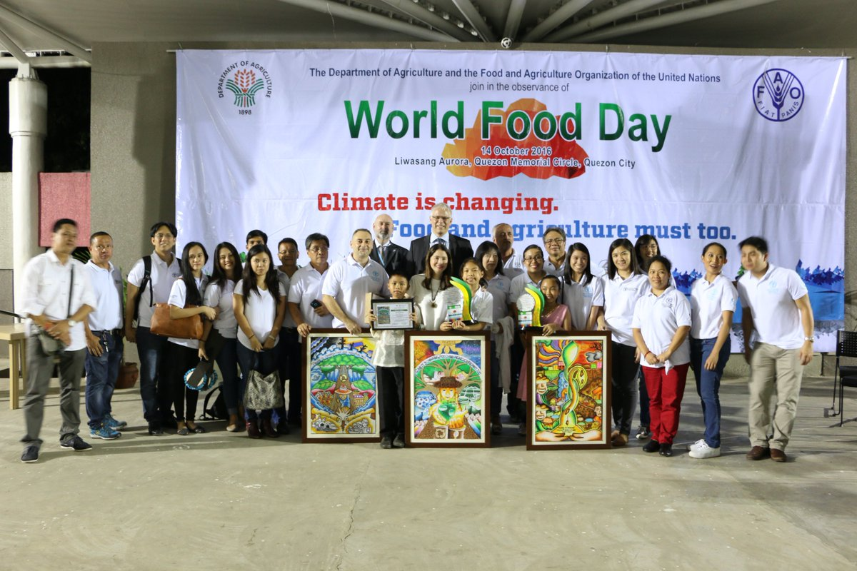 World Food Programme Philippines On Twitter Flashbackfriday To Last Week When We Celebrated Future Of Food Agriculture W Partners Creative Kids Who Designed These Great Posters Https T Co 1kbceli4on
