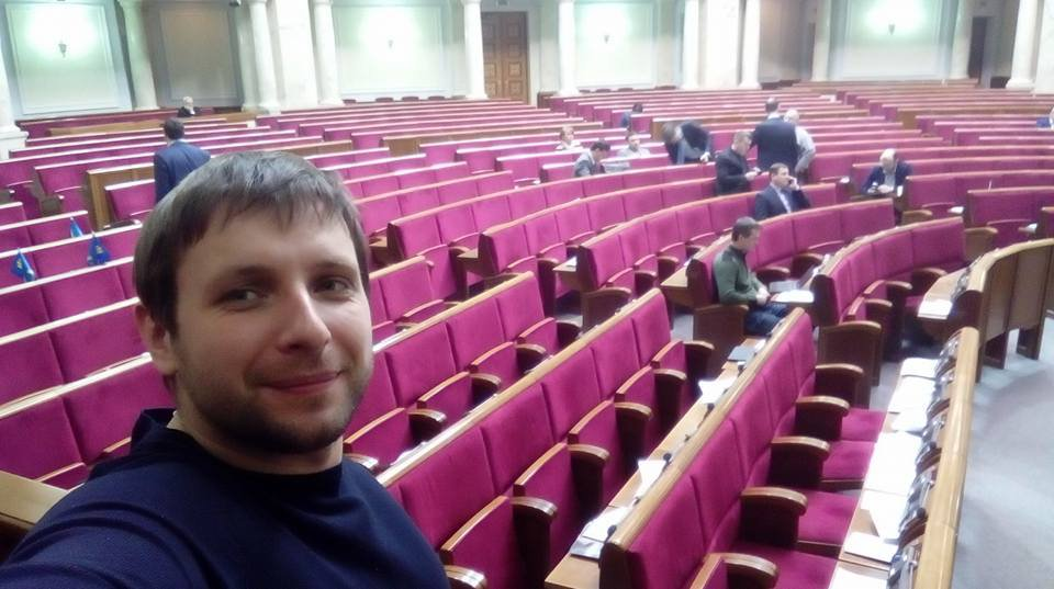 Сессионная неделя Рады завершилась при традиционном пустом зале - Цензор.НЕТ 3870