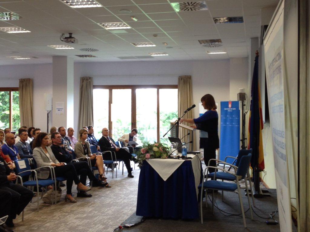 Armengol anima a 'encontrar soluciones comunes' en la clausura del Congreso Internacional de Policías Tutores