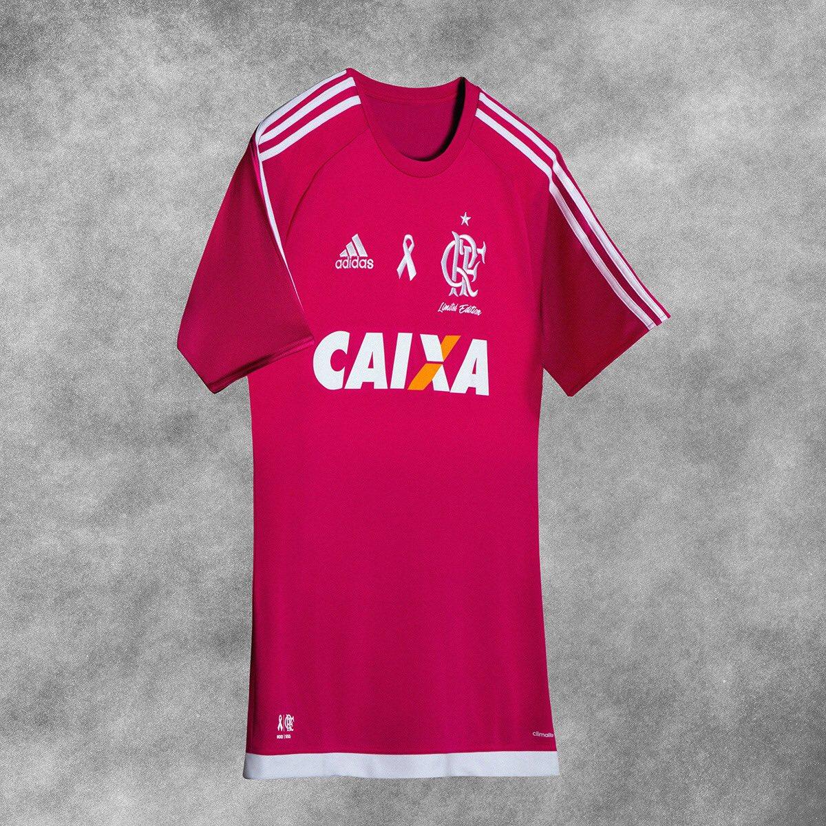 O Flamengo apoia o Outubro Rosa. Edição limitada.