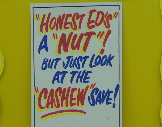 Honest Ed's is having it's final sign sale this weekend.