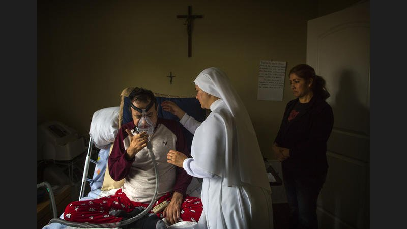 Meet the nuns who stand vigil over the dying in Los Angeles