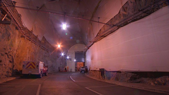 What's really underneath Cheyenne Mountain? Find out tomorrow at 6:30 PM for