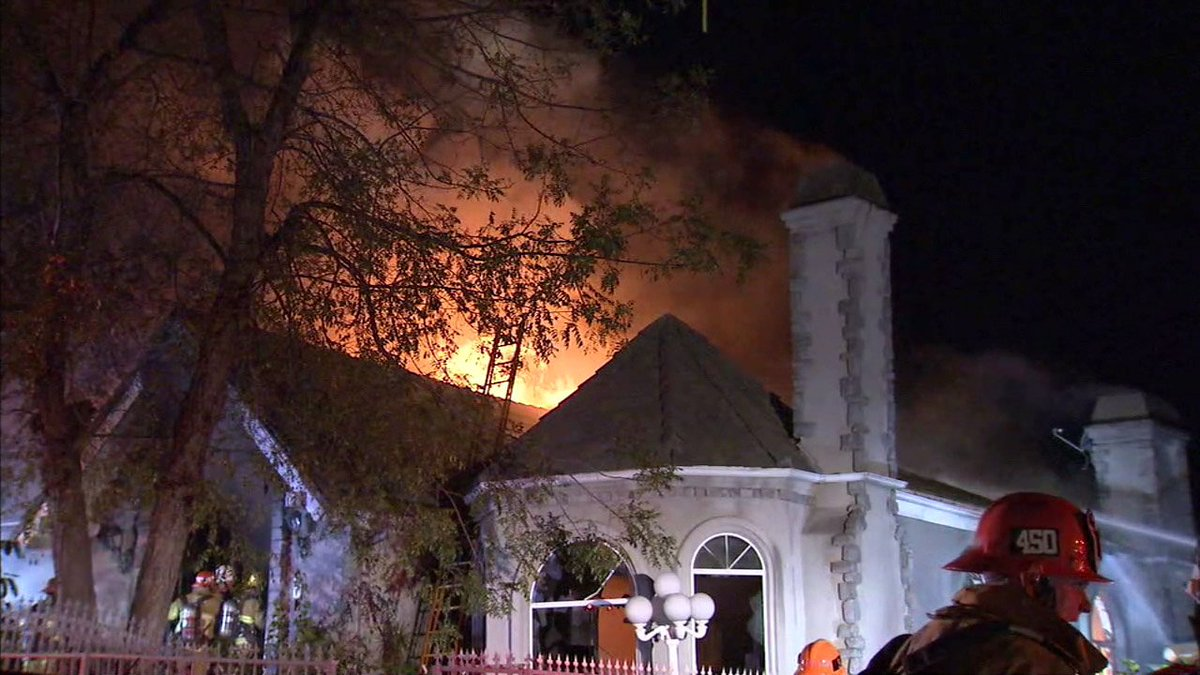 Homeowner, 84, missing after fire rips through multistory house in Mount Washington