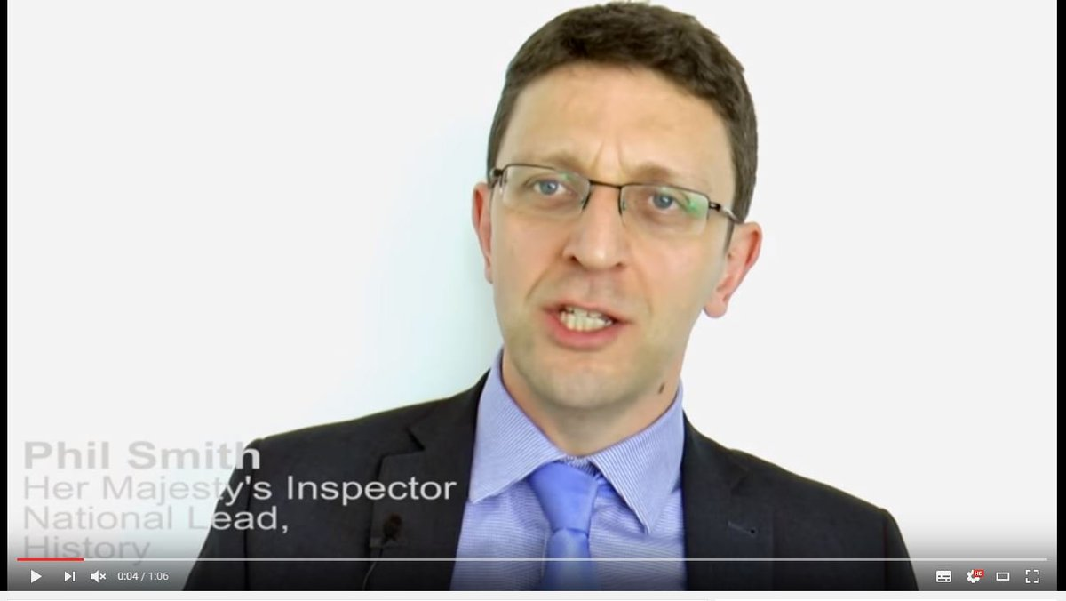 """sted on Twitter """"HMI Phil Smith talks about what inspectors"""