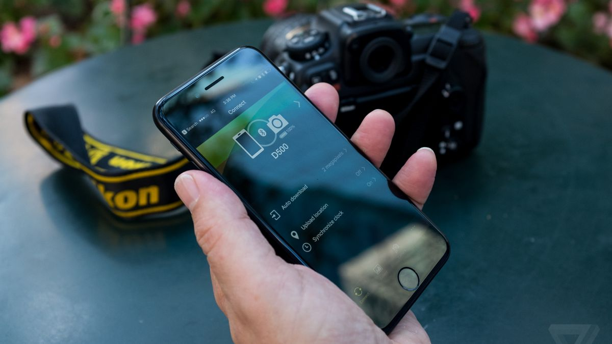 Nikon cameras are now always connected to your phone, and it feels like the future