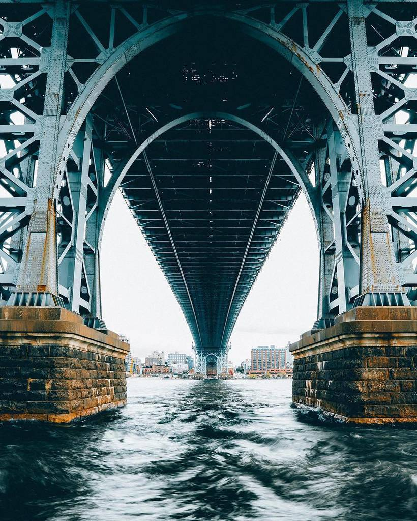 Under Williamsburg Bridge by @kostennn via @fubiz #newyork #nyc<br>http://pic.twitter.com/tqM7mFMyob