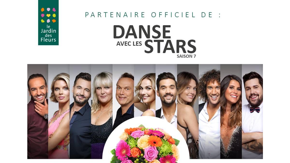 """J+7 -  TF1 – Danse avec les Stars""""- Saison 7 – Le Jardin des Fleurs, partenaire officiel https://t.co/uBV7Gz7nkp"""
