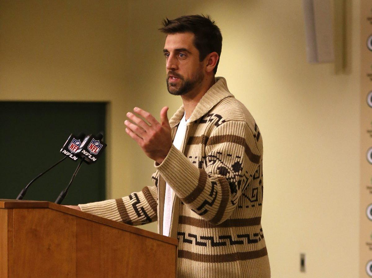 Aaron Rodgers is 'The ...