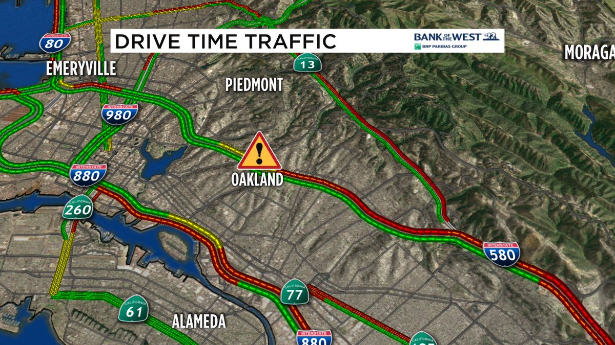 Water main break near 580 and Fruitvale, on/off ramps closed or closing along w/ some surface streets.