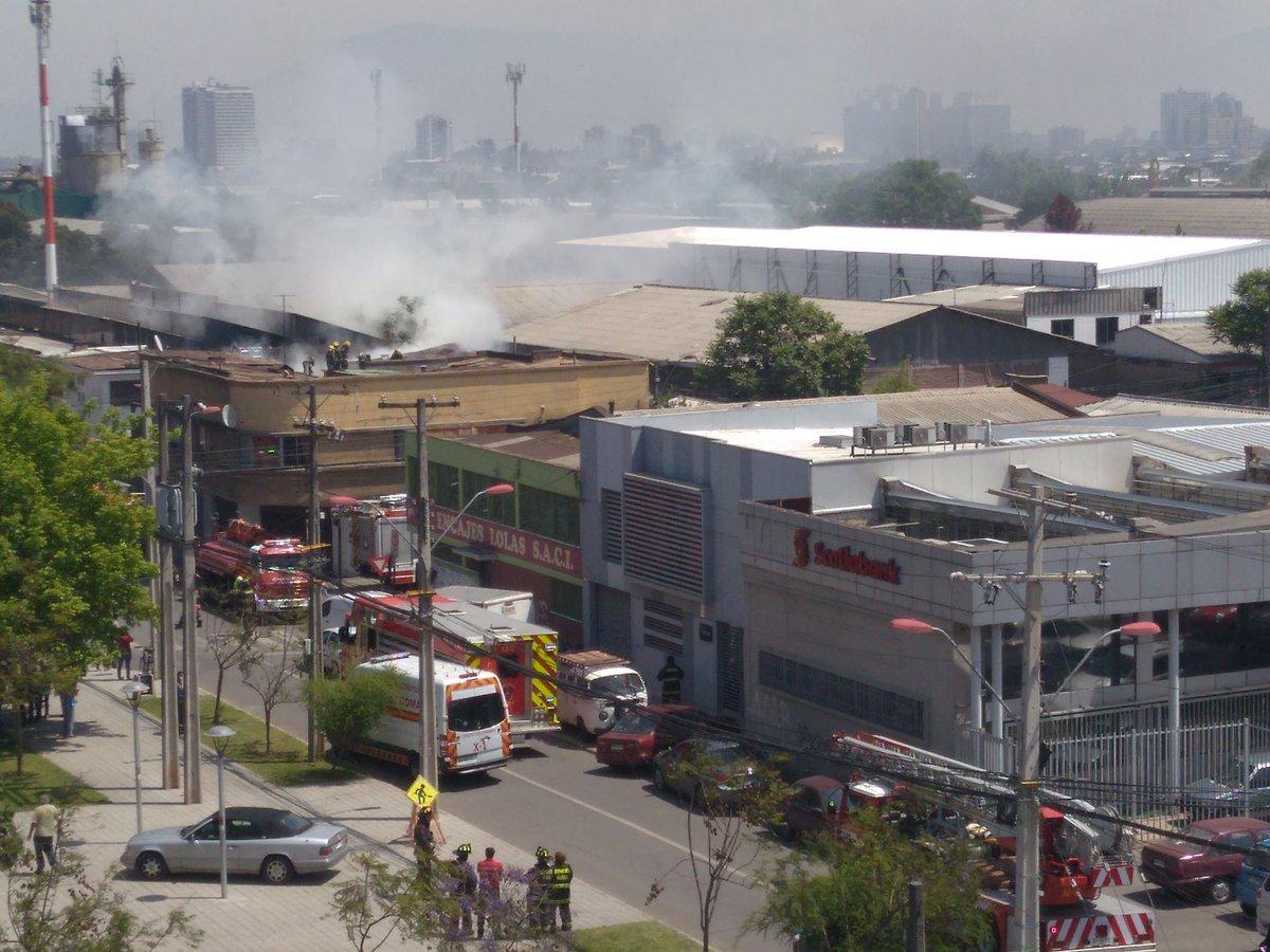 RT @jlecerfr @biobio @reddeemergencia incendio casi apagado en San Joaquín