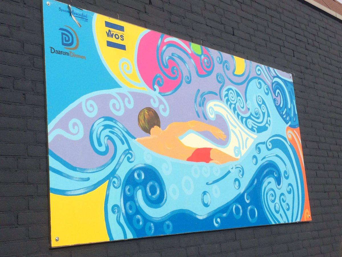 Bgm Erik Boog On Twitter Onthulling Kunstwerken Ago Zwembad Mooi