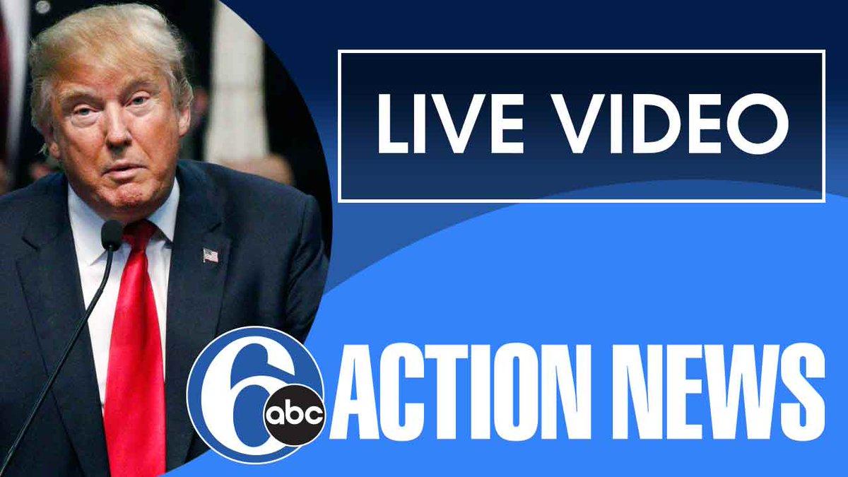 LIVE VIDEO: @realDonaldTrump holds rally in Newtown, Bucks County