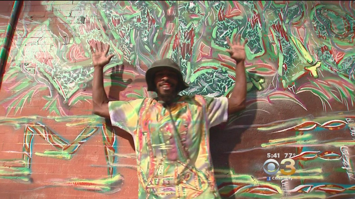 North Philadelphia Man's Mission To Have His Name Known In The Art World