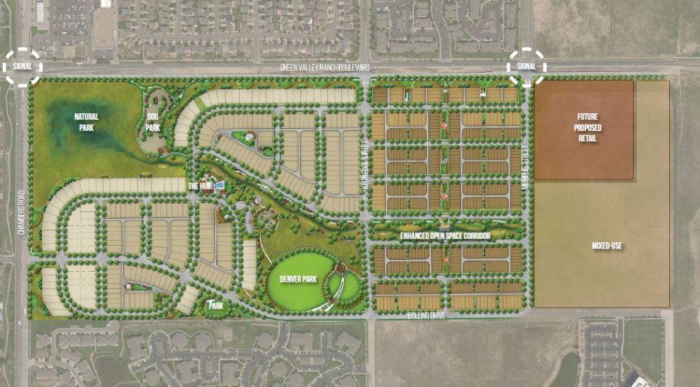 700 homes going up in Denver's Green Valley Ranch neighborhood @joe_vacc