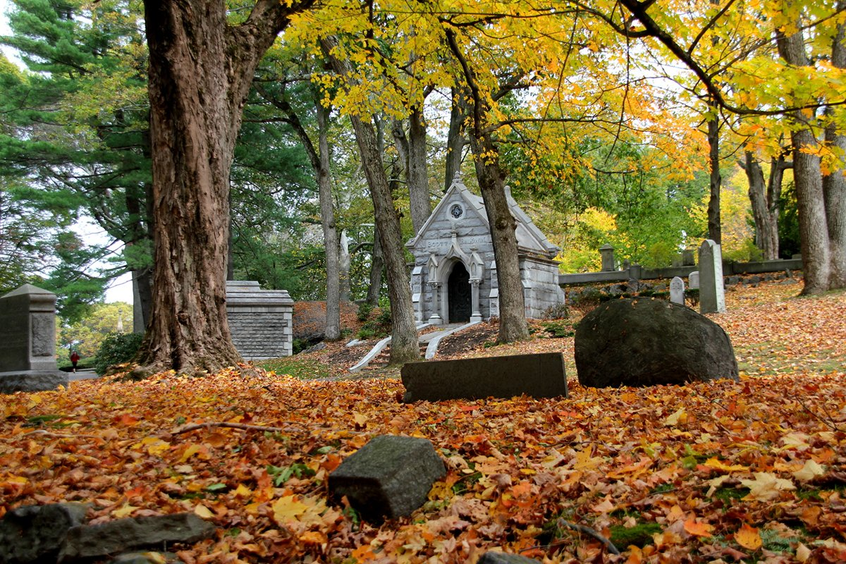 Tis the season of grave peeping. Check out these five historic cemeteries in the city
