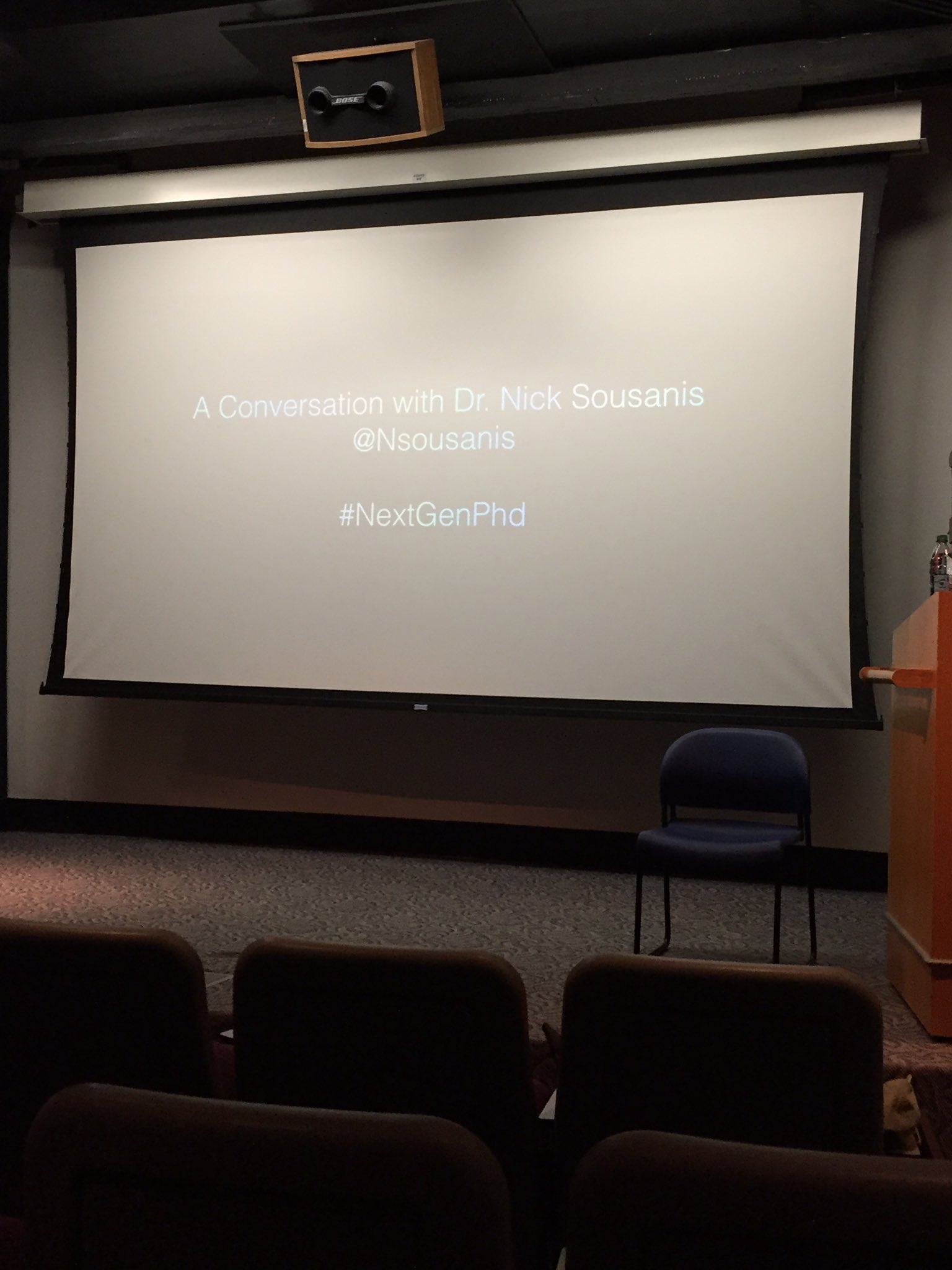 We're about to kick things off for #NextGenPhd w/ @Nsousanis! https://t.co/Vg95BRADCc
