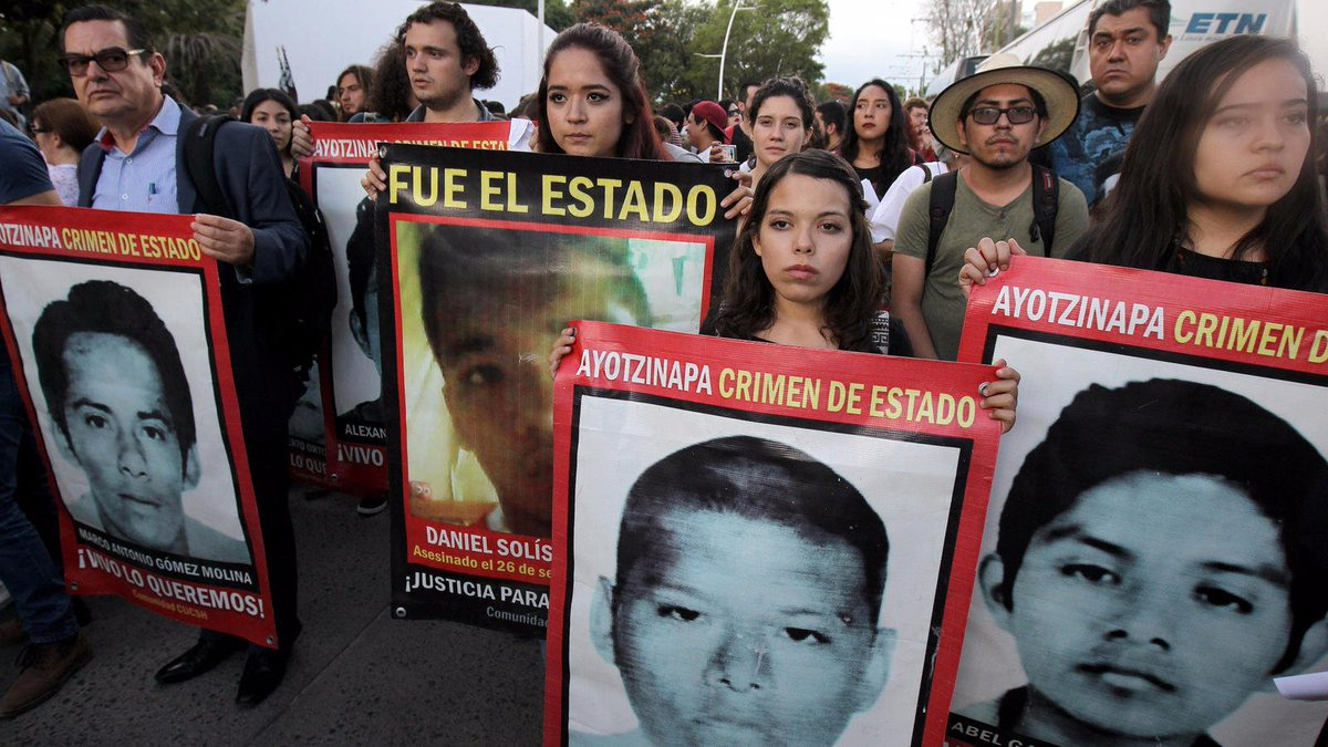 Mexico arrests the x-police chief of city where 43 students disappeared in 2014