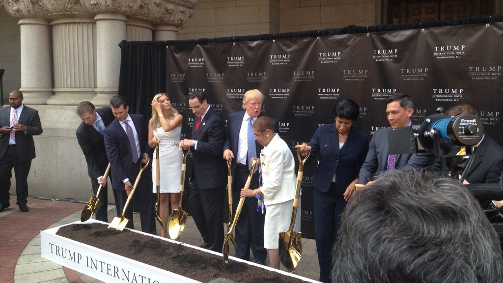 DC's Mayor Won't Attend the Trump Hotel's Official Grand Opening
