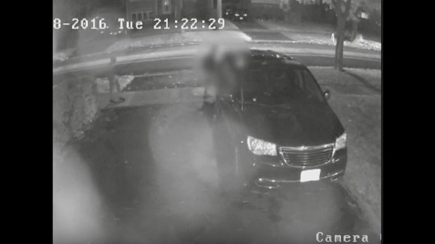Police release footage of suspect in Don Valley Village sex assault