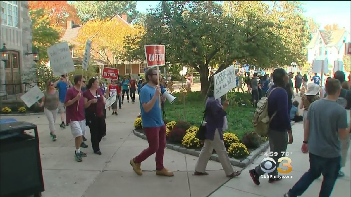 LATEST: Tentative Agreement Reached In PA State College Strike. @AlexandriaHoff Reports