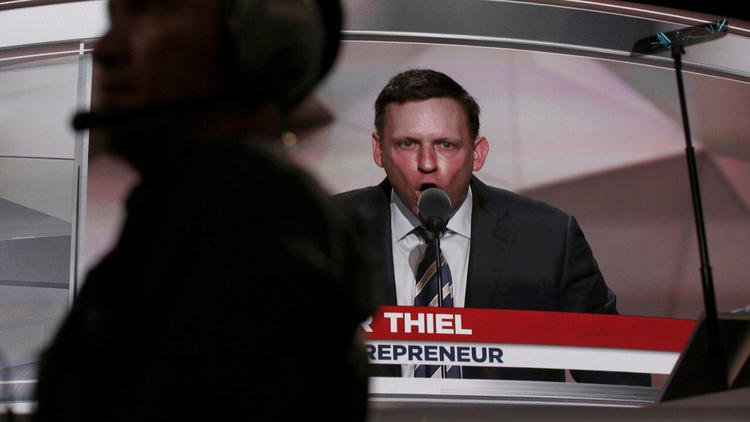 Facebook has a Peter Thiel problem, and Mark Zuckerberg doesn't get it, writes @hiltzikm