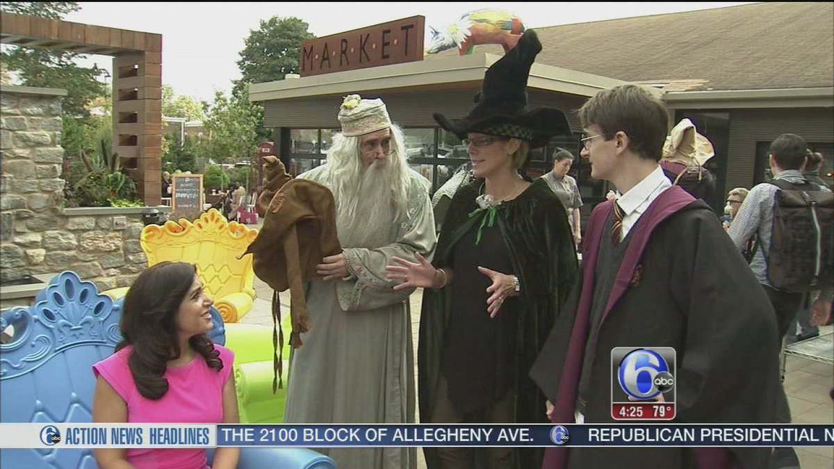 Chestnut Hill to magically transform for Harry Potter Festival