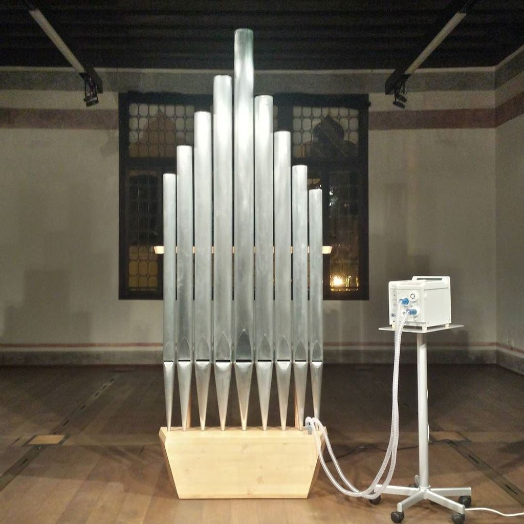 #MicheleSpanghero #adlib #sculpture #trevisoricercaarte #treviso #pipeorgan #breathingmach… https://t.co/FF0KvNKmRB