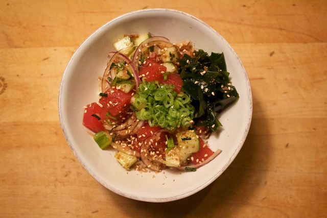 The poke pop-up is back in Petworth's old Turtle and Crane spot.
