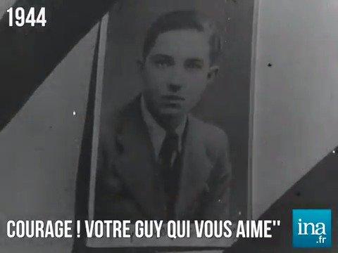 'Ce que je souhaite de tout mon cœur, c'est que ma mort serve à quelque chose' 📅 22 octobre 1941 : l'exécution de Guy Môquet à l'âge de 17 ans #histoire