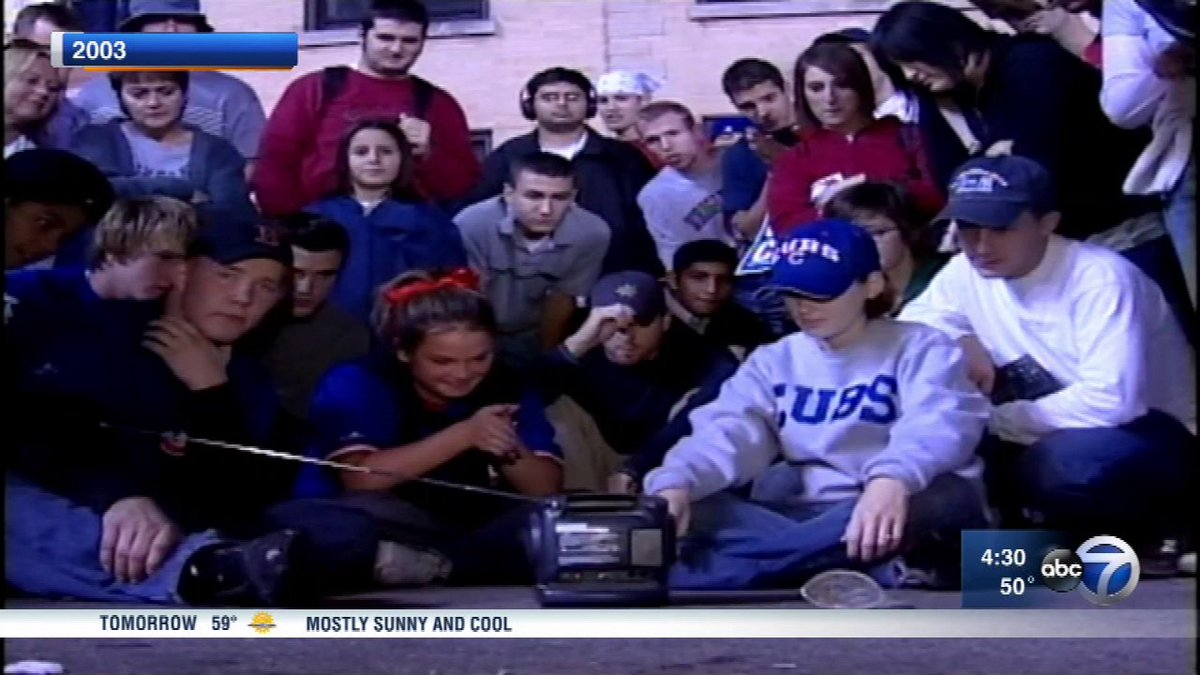 Fans have 2003 flashbacks as Cubs head into Game 6 of NLCS at home