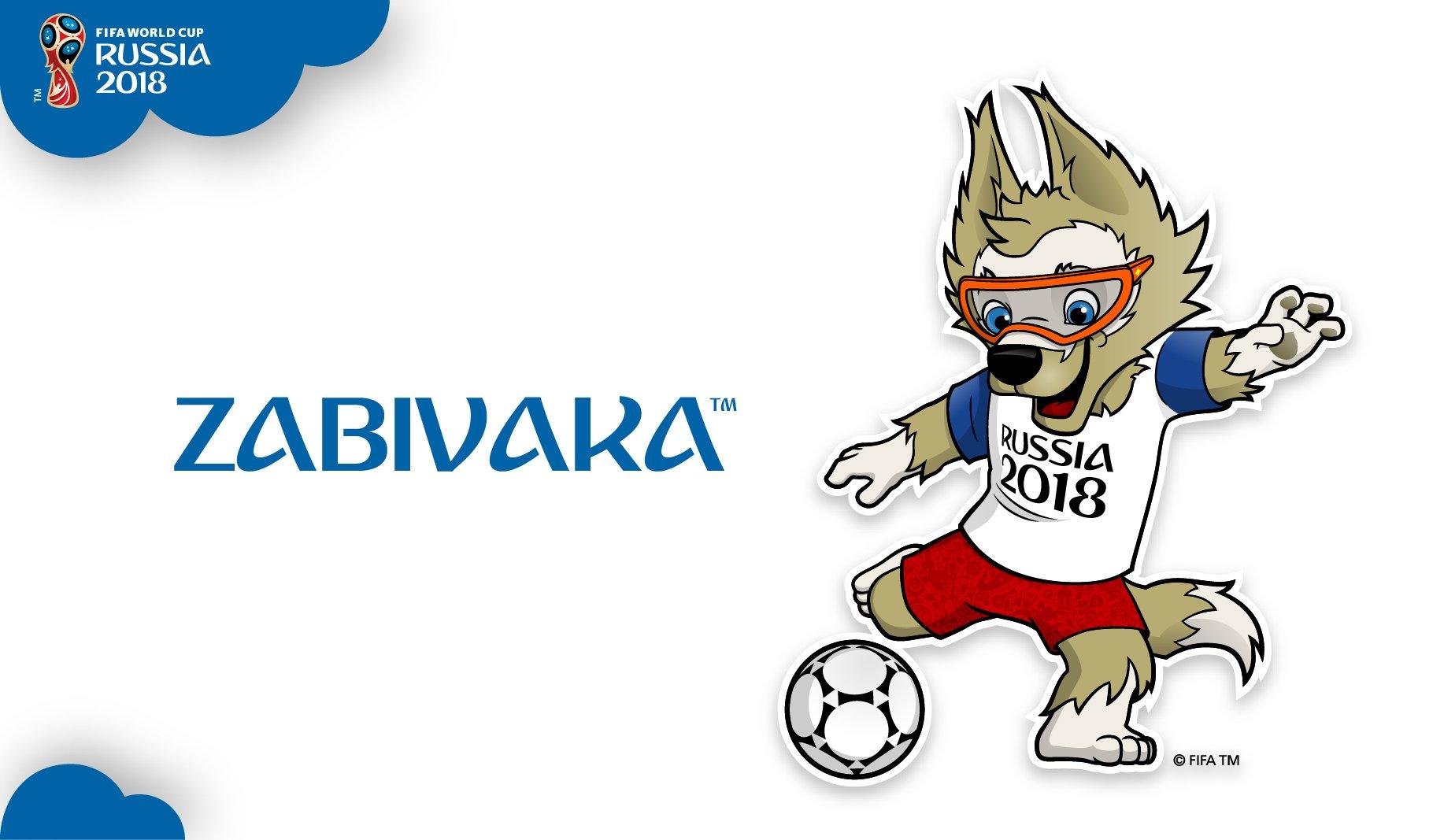 Mascota Rusia 2018