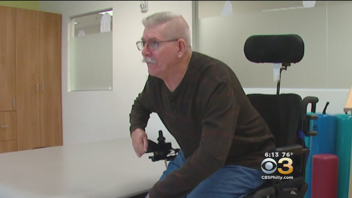 South Jersey Man Refuses To Allow Disability Define Him. @StahlCBS3 Reports