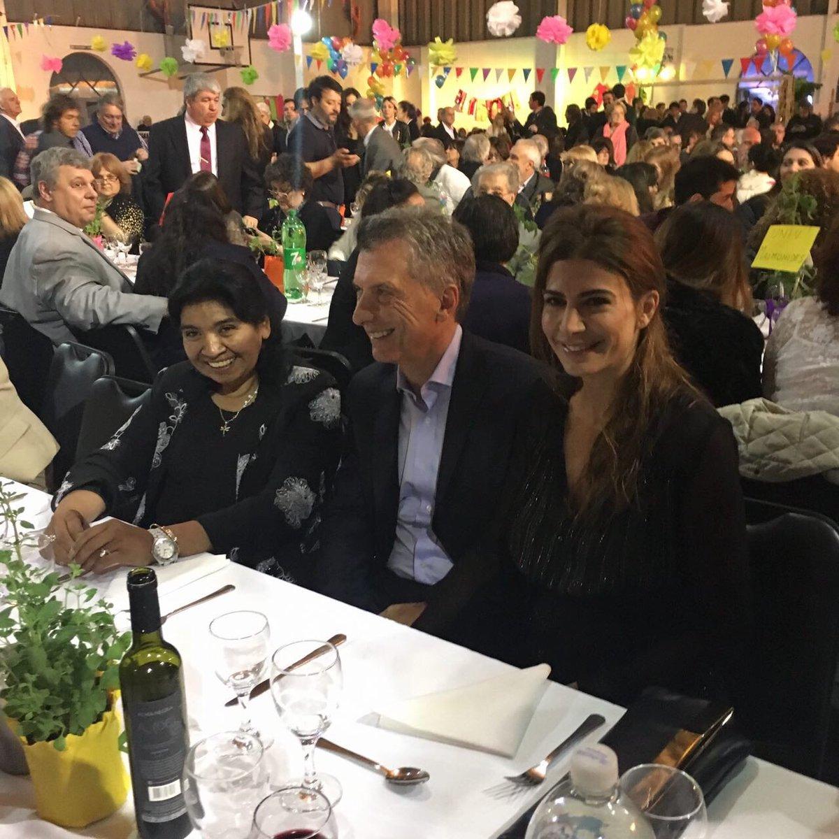 En la Cena Anual de la Fundación Margarita Barrientos.