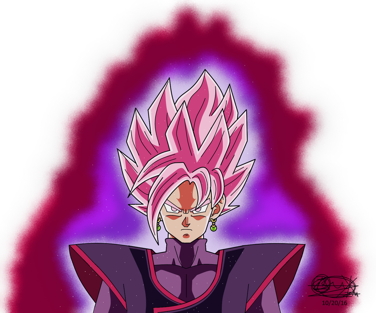 8397aotCUBER on Twitter Drawing of Goku Black and Zamasus
