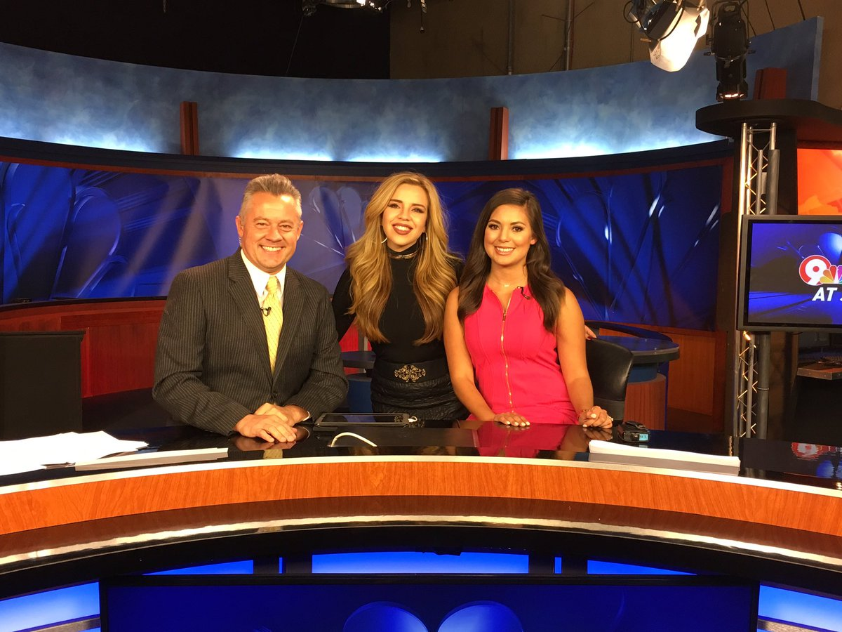 Thanks so much @mseliamaria for coming by our studio, we'll let you know if we need a fill in anchor/singer soon.