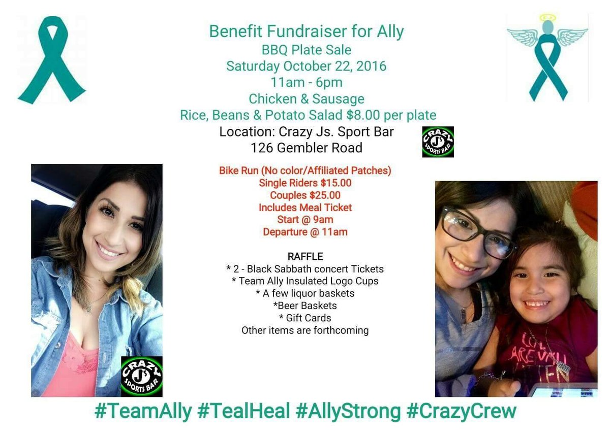 roma villavicencio on twitter teamally please stop by tomorrow if you can ally passed away tuesday of stage 4 ovariancancer
