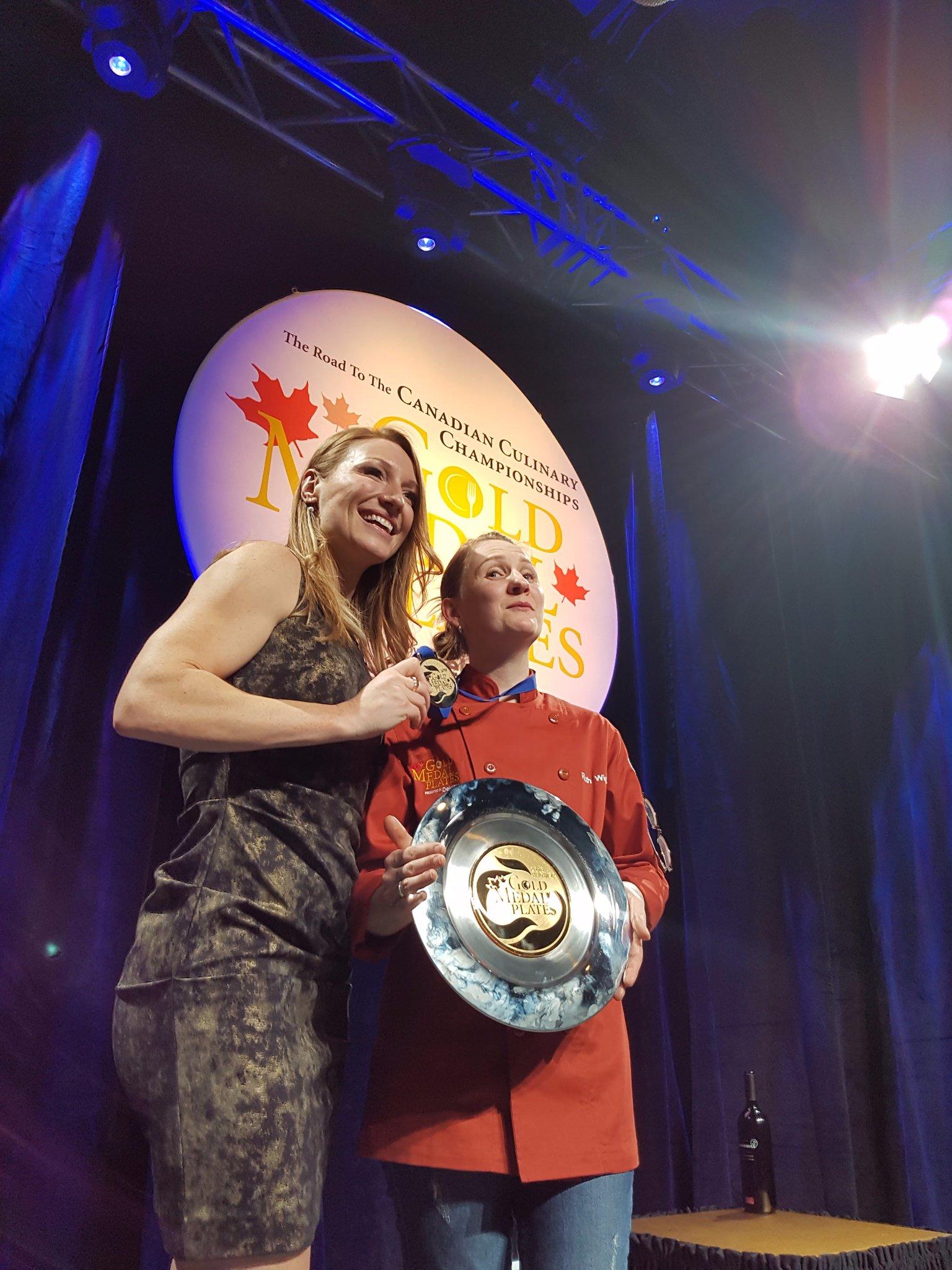 Emcee @HeatherMoyse + #GMPStJohns champion @wigman_ruth. https://t.co/7F1izF6E9Q