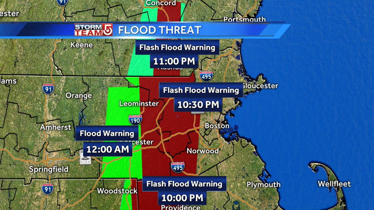 Latest Flood Warnings. wcvb