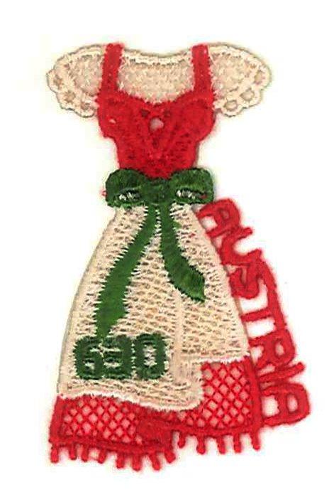 オーストリアから、刺繍の切手が発行されました。「ディアンドル」という可愛らしい民族衣装がモチーフです。AUSTRIAの文字まで刺繍でできていて見事です! https://t.co/NxTCAQNgB0 https://t.co/cf9y2VxhWM