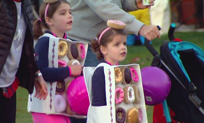 Fishers businesses host Boo Bash trick-or-treat fun