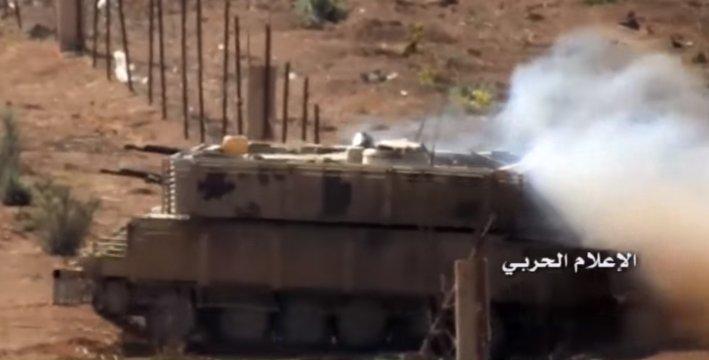 الوحش الفولاذي لدى قوات الجيش السوري .......الدبابه T-72  - صفحة 3 CvW6aIaW8AAtQRk