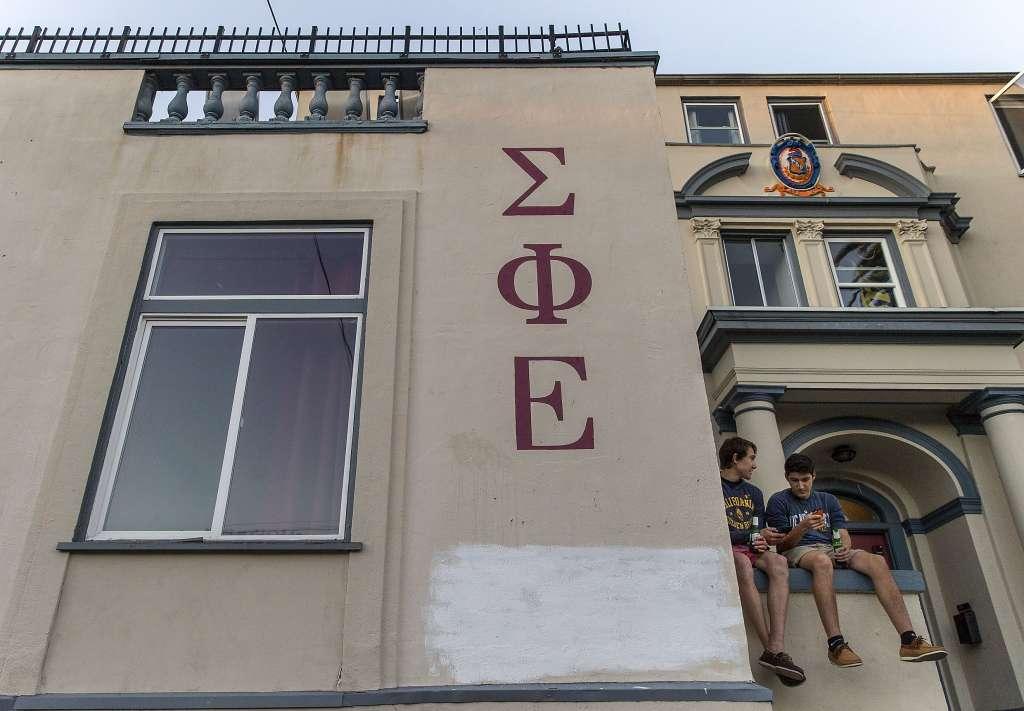 UC Berkeley Greek groups halt parties after sex assaults reported UC UCBerkeley