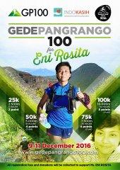 Gede Pangrango 100 • 2016