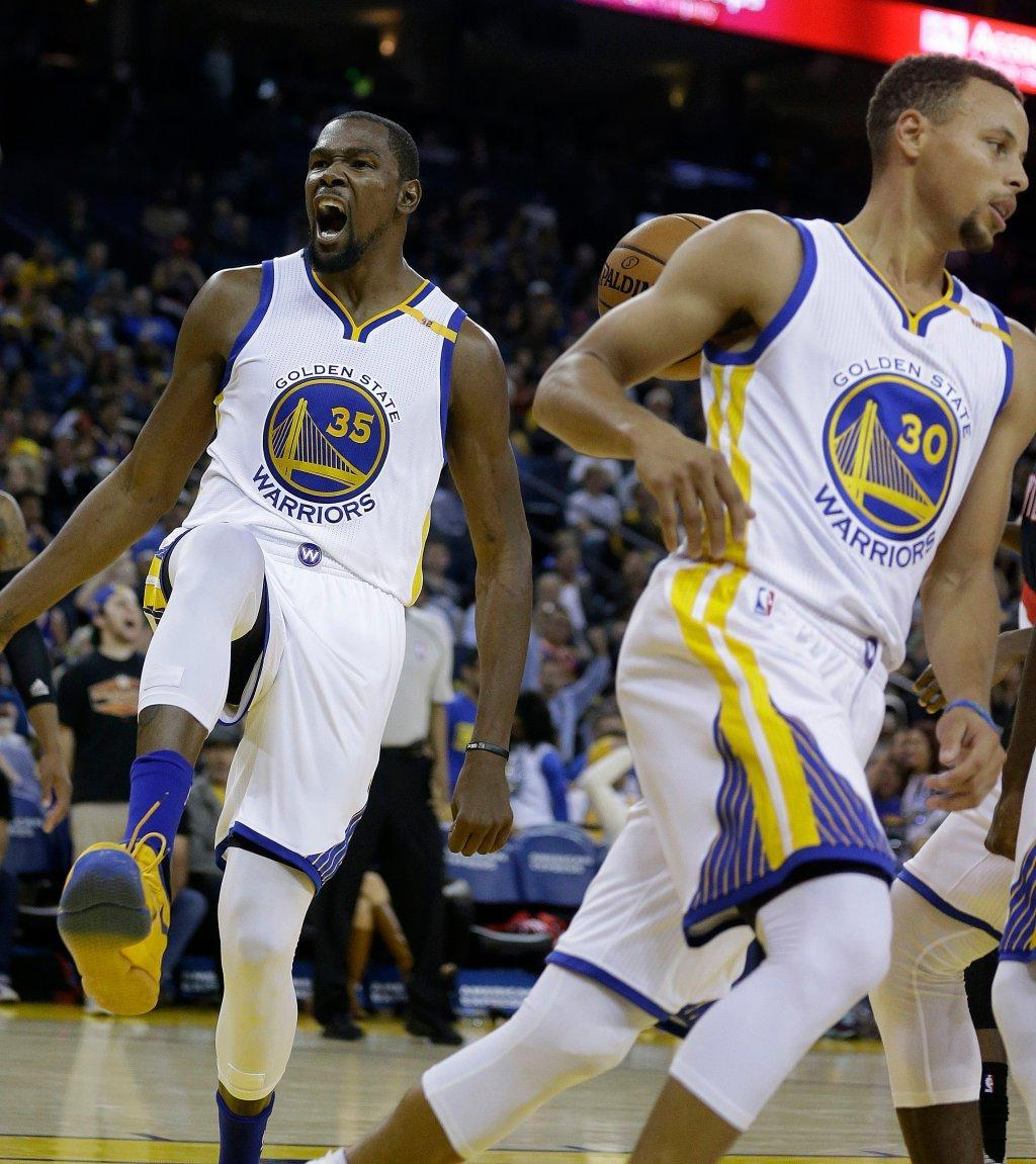 Warriors cap preseason with 107-96 win over Trail Blazers