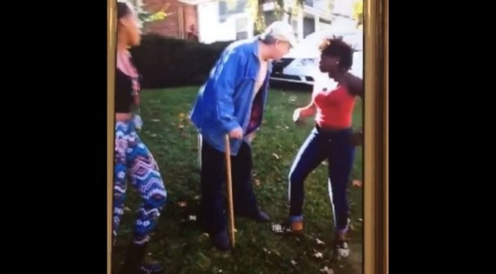 Two teen girls arrested after 62-year-old man attacked in Facebook video